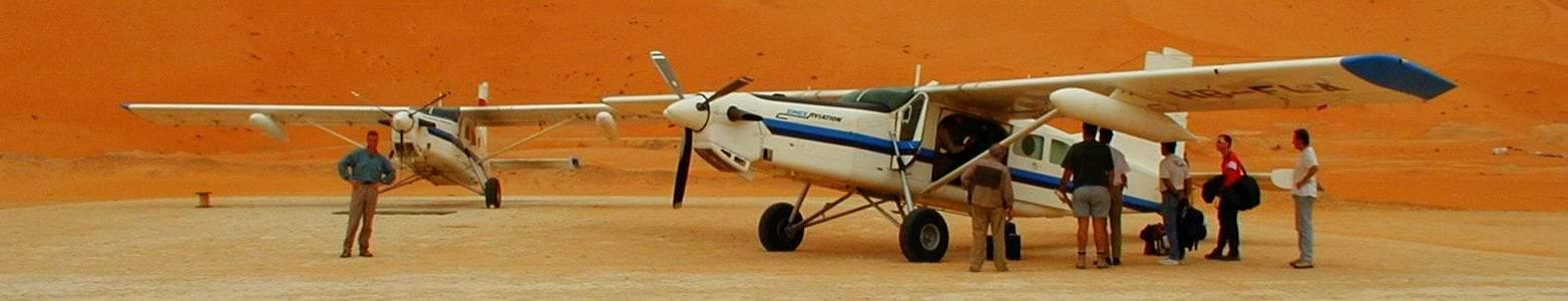 Airborne laser scanning mission - Algeria